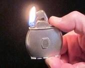 Vintage Evans Lighter Art Deco Lighter Cigarette Lighter Table Lighter Pocket Lighter WORKING LIGHTER