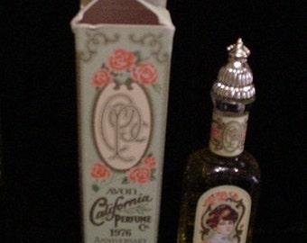 Vintage Perfume Bottle 1976 Moonwind Perfume Avon Perfume Cologne FULL In Original Box 1970's Perfume