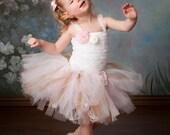 Classy Vintage Tutu Skirt, Tutu Skirt- Girls Tutu- Baby Tutu- Pink Tutu- Newborn Tutu- Dance Costumes- Tutus For Girls- Photo Props