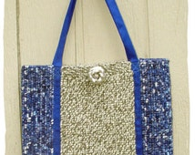 Locker Hooking Tote Bag Pattern-PDF