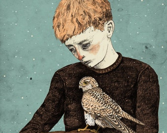Kes // Signed A3 print