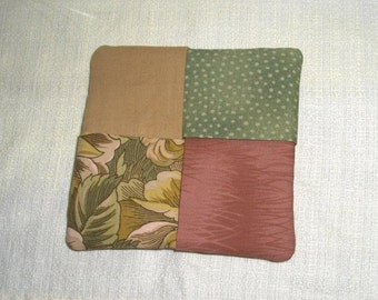 Cloth Beverage Coasters (set of four)