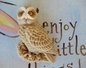 10 Owl Soap Favor - halloween decoration, fall wedding favor, owl baby shower