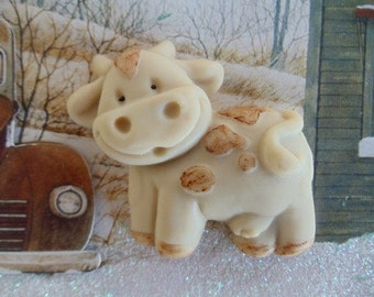 10 Cow Soap - barnyard favors, baby shower favors, birthday favors