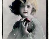 Cherries, Vintage Photo, digital download