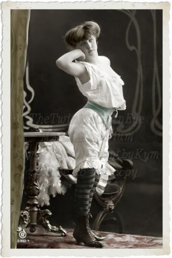 awaken risque vintage woman digital download by msalisemporium