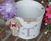 EASTER Pail Large Personalized Versatile Many Color Options