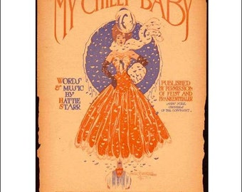 My Chilly Baby - Sheet Music Magnet