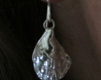 Oyster and Pearl Earrings