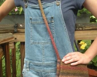 wool felt crossbody shoulder bag