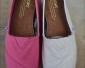 Customized Color Change for TOMS Shoes