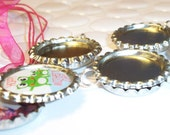 NEW ITEM - Bottle cap locket charm kit - 10 kits