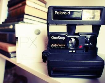 Polaroid Camera OneStep AutoFocus - Film Tested Working