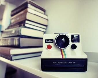 SALE Polaroid Camera SX-70 Rainbow OneStep - Film Tested Working