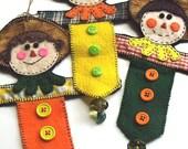 3pc SCARECROW Ornament Set
