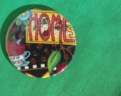 Home Sweet Home Mary Englebret Pocket Mirror