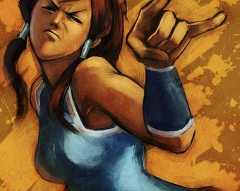 Legend of Korra: I'm watching you Poster