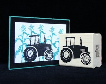 tractor rubber stamp