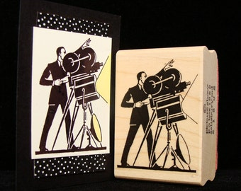 "movie rubber stamp ""the director"""