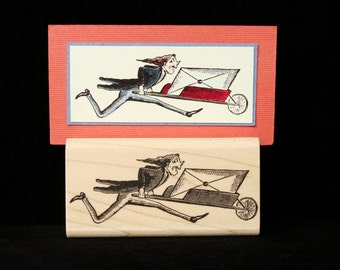 speedy delivery rubber stamp