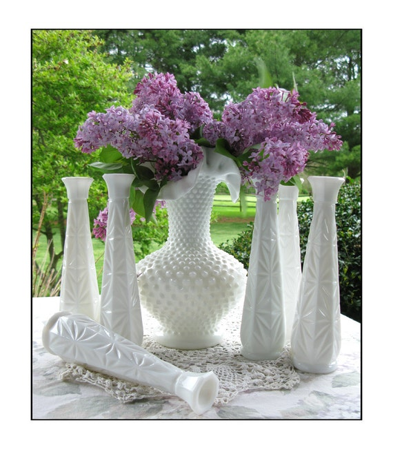 Katie's Vintage Milk Glass Collection
