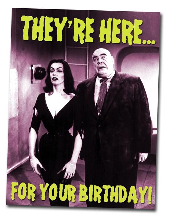 Geburtstagskarten retro