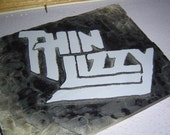 Thin Lizzy wooden wall art