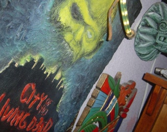 City of the Dead   Wooden Wall Art