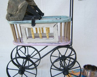 Petite Decorative Baby Buggy