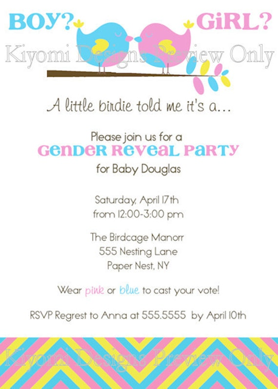 Gender Revealing Invitations was amazing invitations ideas