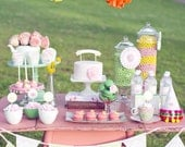 Printable Garden Tea Party Package- Featured on Hostess with the Mostess