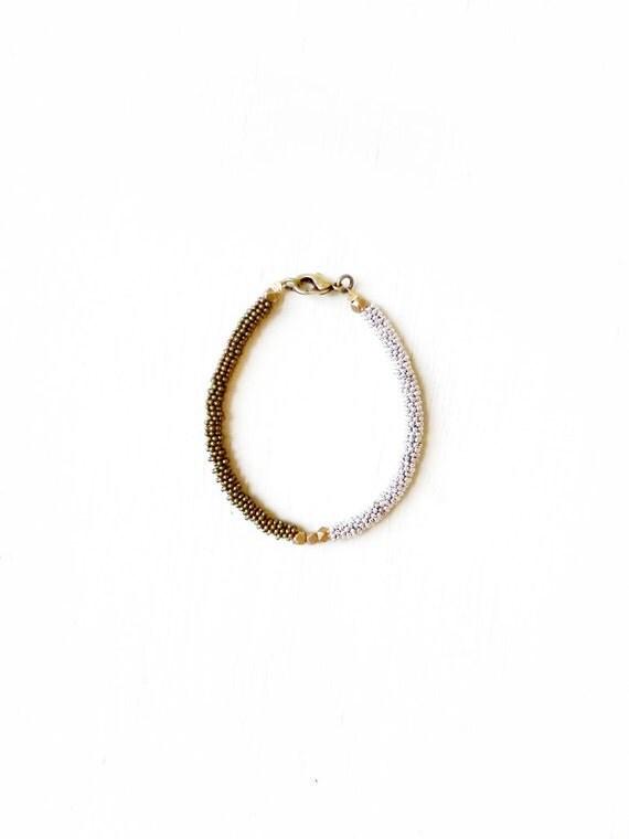 Two-toned bracelet