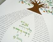 Ketubah - Dancing Tree of...