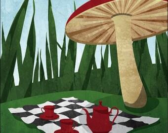 "Travel Poster - Wonderland (large - 18 x 24"" or A2)"
