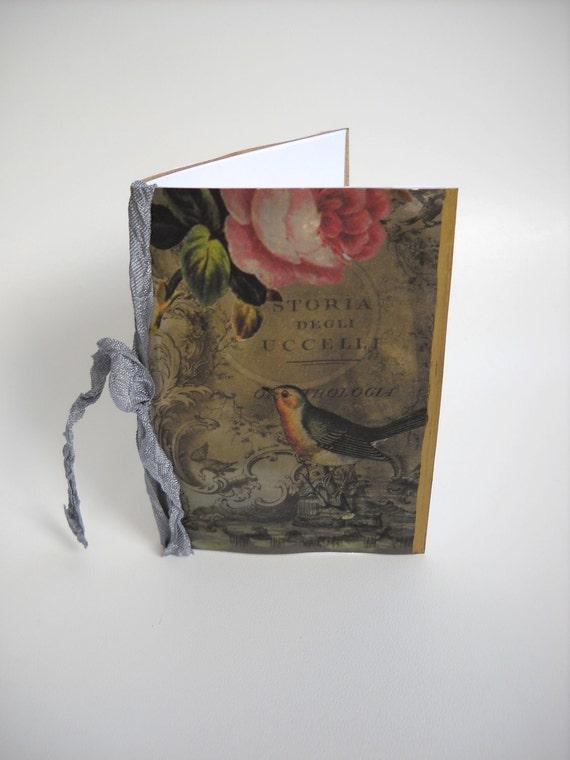 Handmade Victorian Notebook - SALE