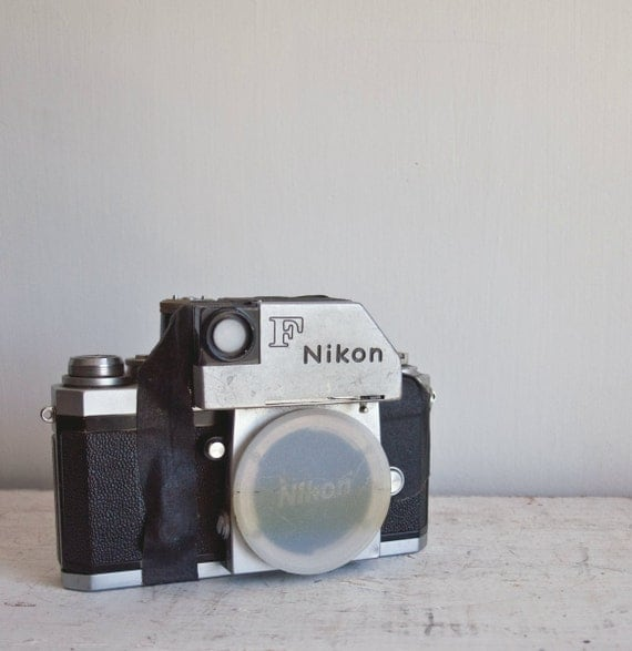 Antique Nikon F Photomic Camera / 1966
