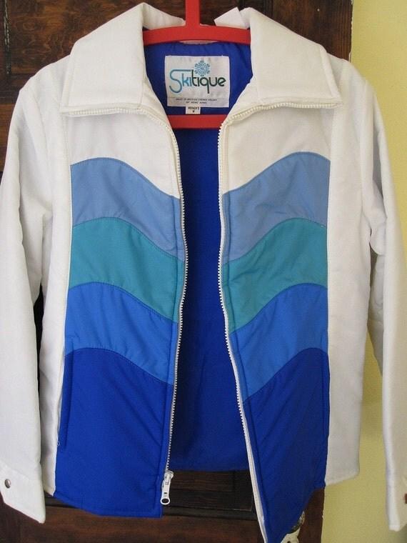 70's Vintage Skitique Ski Jacket M
