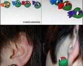 TMNT Teenage Mutant Ninja Turtle Earrings