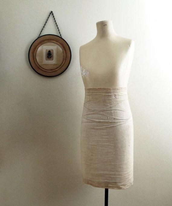 RESERVED Vintage Dress Form : Composition with Adjustable Stand