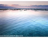 Favorite Beach - Maui, Hawaii - sunset, turquoise, water, pacific ocean, island, blue decor  8x12 Original Fine Art Photograph