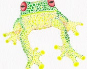 Mr Webber - Red-eyed Green Tree Frog - Limited Edition Print