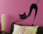 Pussy Cat wall decal large sticker