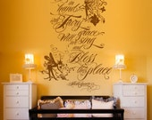Fairy Grace- Shakespeare quote wall decal mural