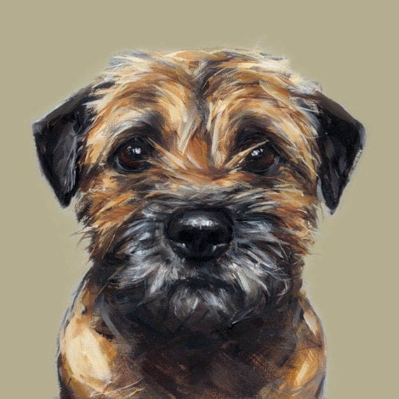 Border Terrier - Collectable Ltd. Ed. Fine art print