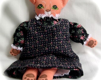 Pretty Kitty Cloth Doll Karla