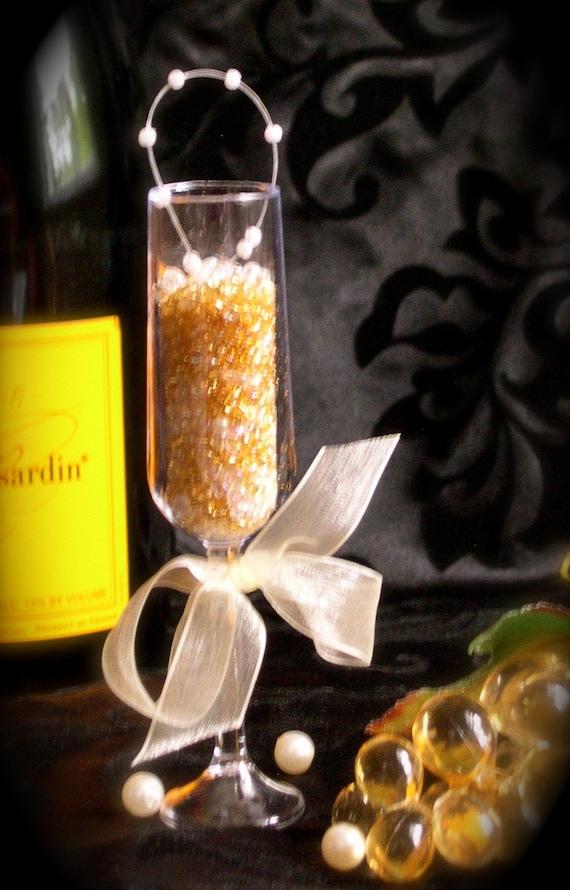 Tiny Bubbles Miniature Champagne Glass