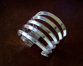 The SAINTE-MARIE  Cuff in Sterling Silver