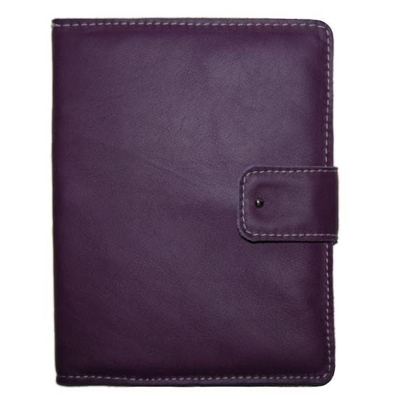 Leather iPad 2 Case Purple Lavender