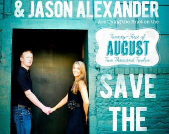 Mural Save the Date Design