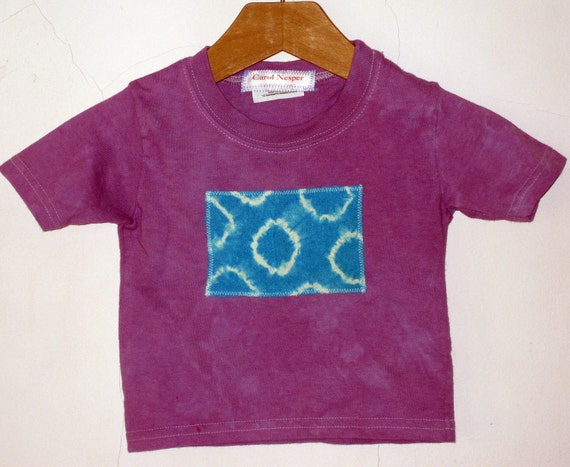 Purple Tshirt 12 Month Baby Girl Tie Dye